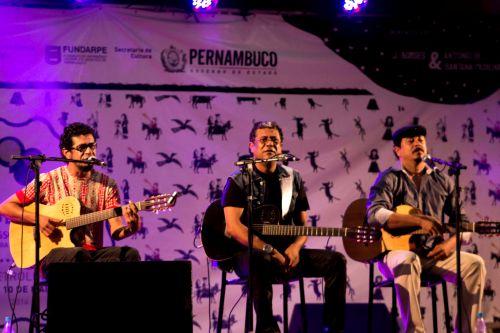 Maviael, Maciel e Marcone Melo levaram cantoria à Petrolina | Foto: Costa Neto